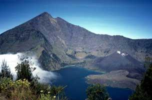 Gunung Rinjani Lombok Indonesia