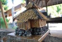 Miniatur masjid Bayan Beleq Lombok