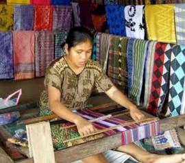 Kerajinan Tenun Desa Pringgasela, Lombok