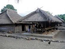 salah satu rumah di Desa Segenter, Lombok