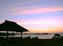 Suasana Pagi Hari di Tanjung Ringgit Pulau Lombok