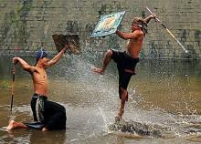 tradisi presean lombok